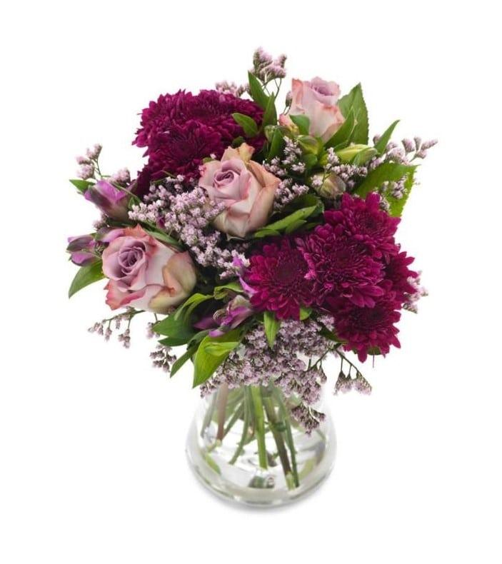 BukettenRosa liljor